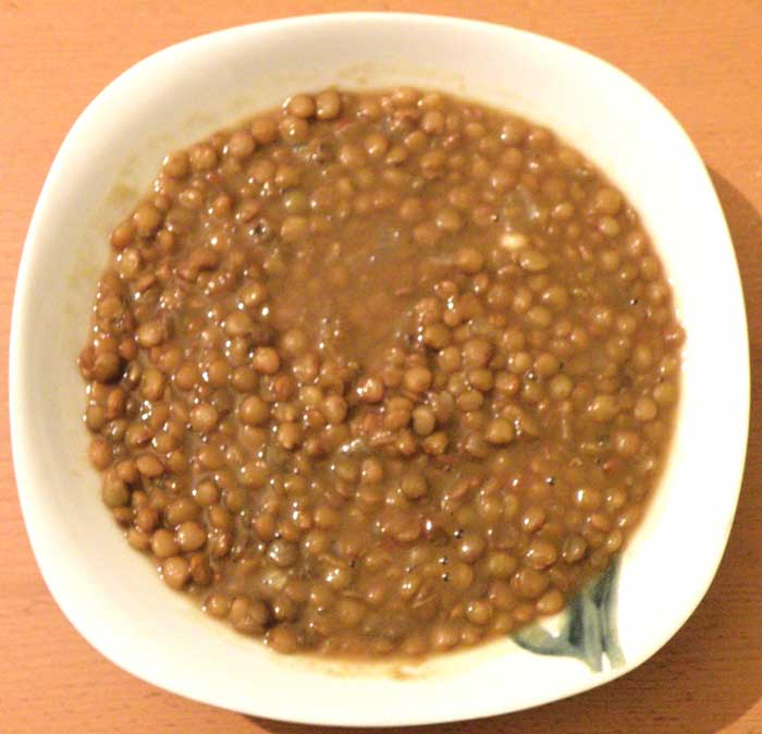 "Traditional Greek Lentil Soup -""Fakes"""