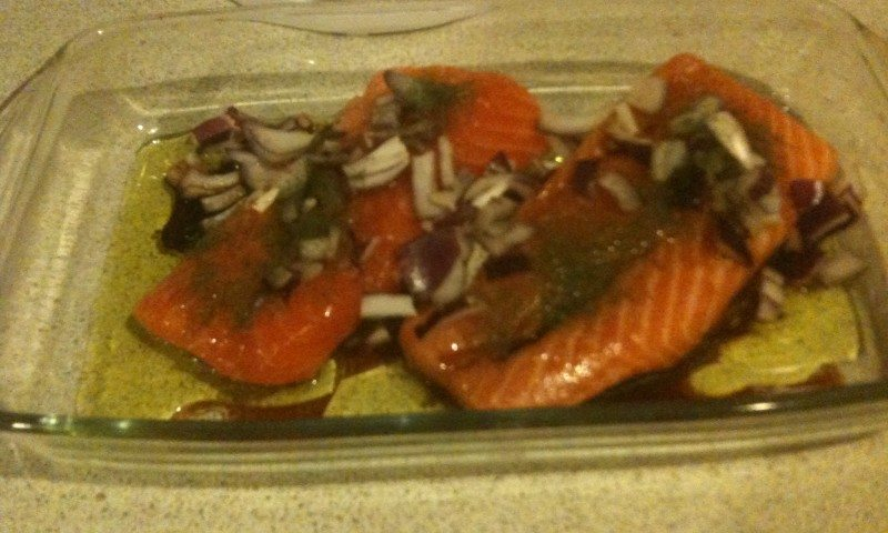 Salmon with Balsamic