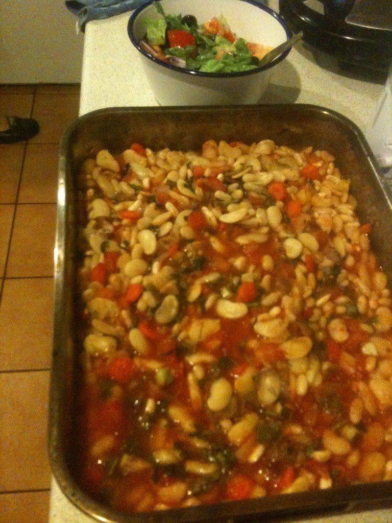 Greek Giant Beans Plaki