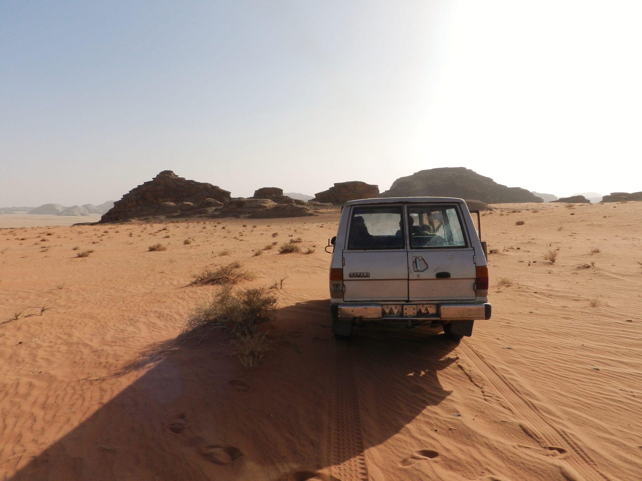 Travelling to Jordan