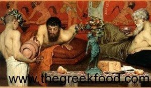 greek wine ancient greece