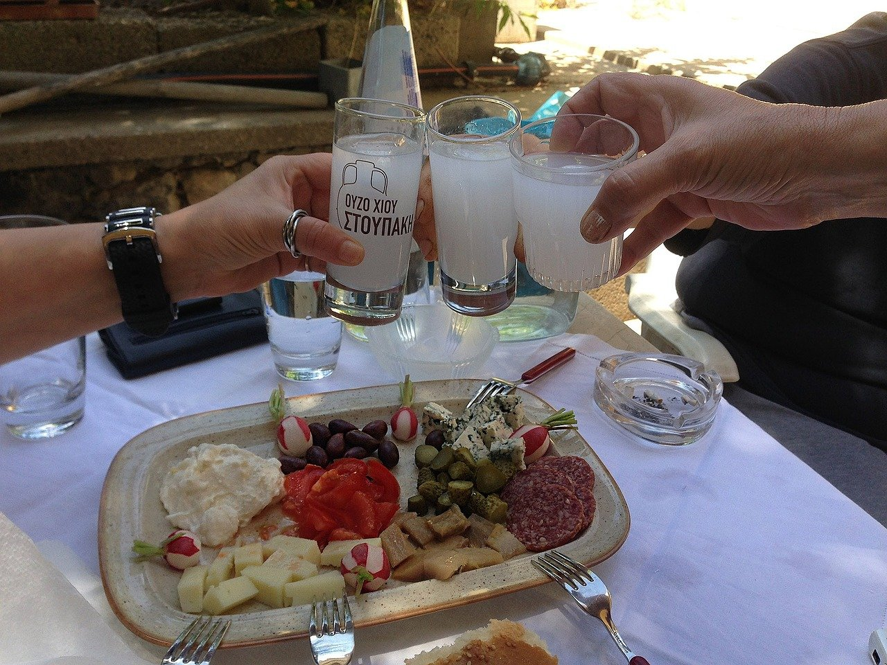 Ouzo – to your health!