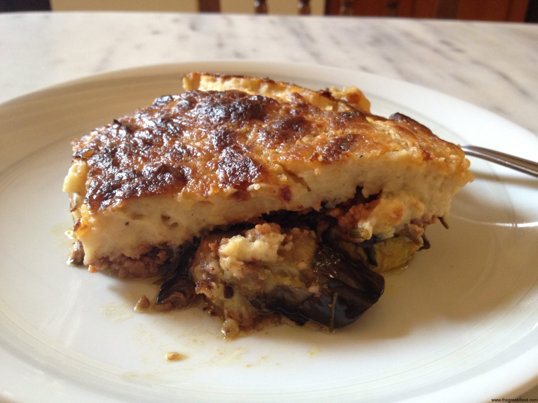 Holidays in Greece and…Moussaka