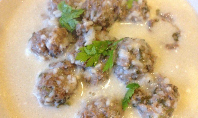 Greek Meatballs…or Giouvarlakia
