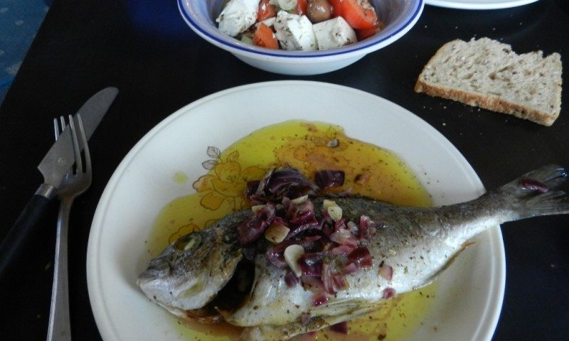 Grilled Sea Bream with Lemmon