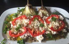 Oven Baked Aubergines