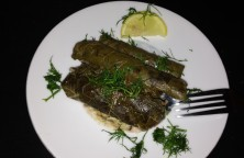 dolmadakia- Stuffed Vine Leaves
