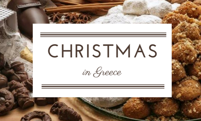 Traditional Christmas dishes from Greece