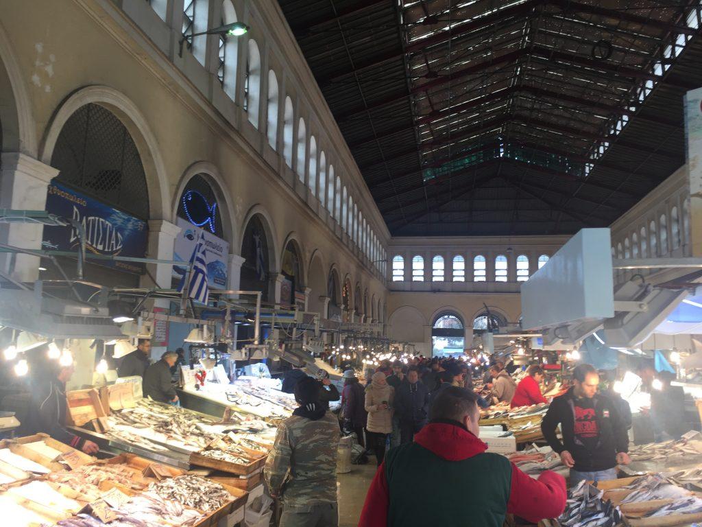 Varvakeios Market |Fish Market
