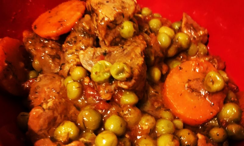 Beef Stew recipe with Green Peas