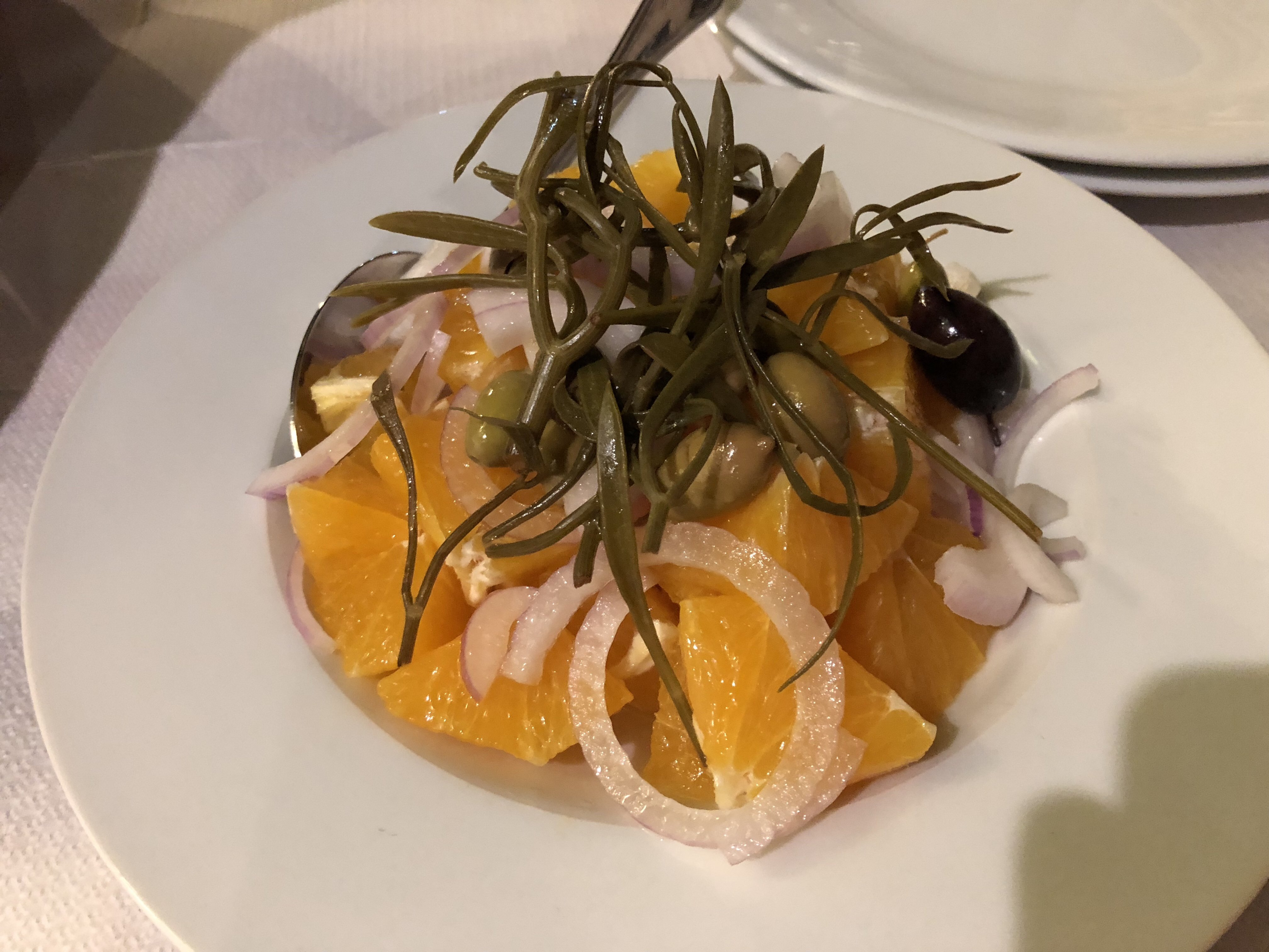 Orange Salad from Mani