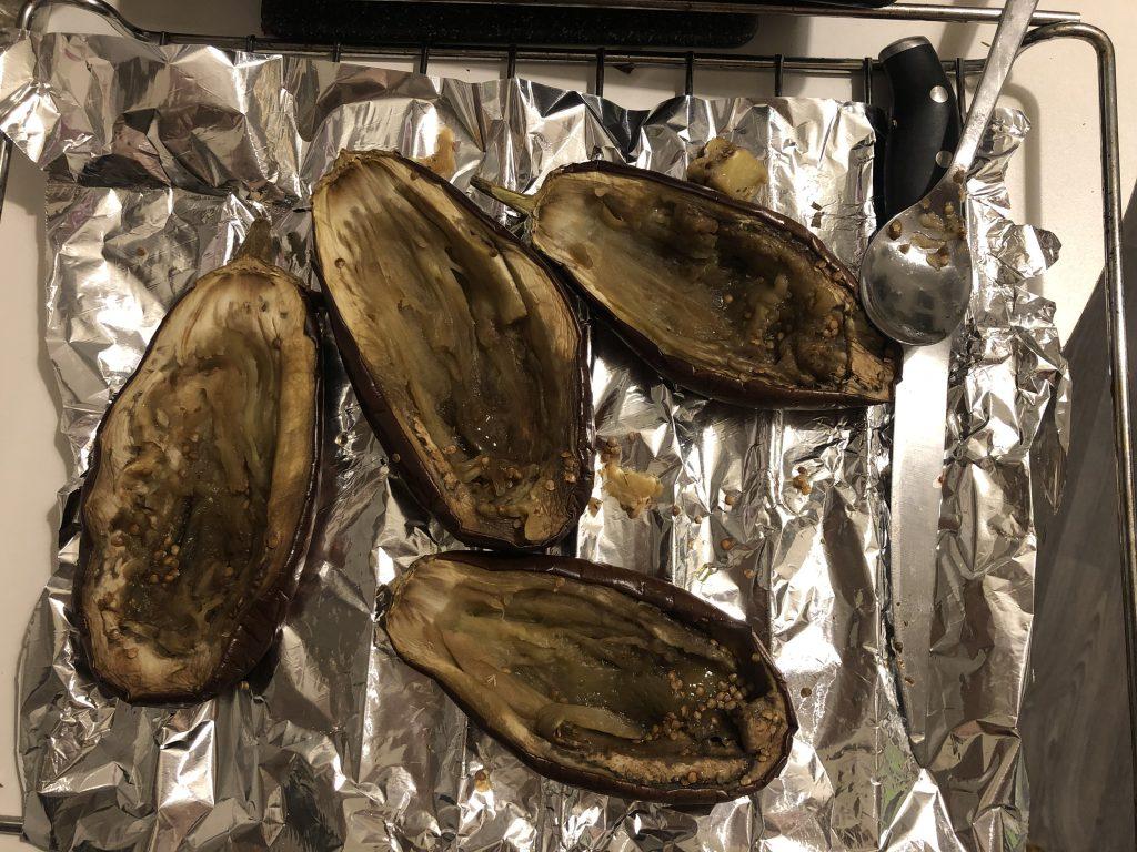 No flesh eggplants!! :)