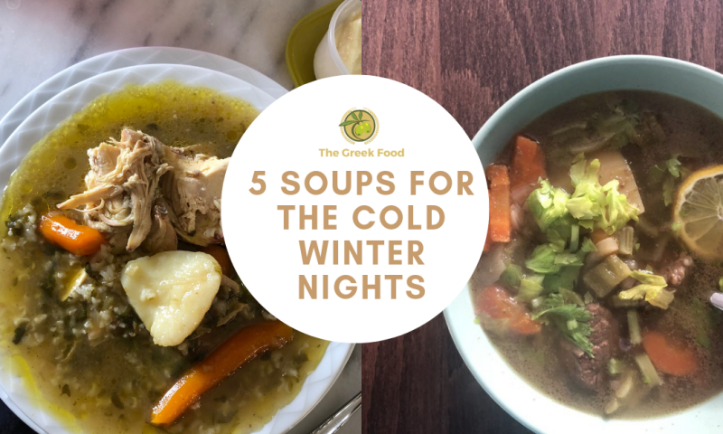 5  soups for the cold winter nights