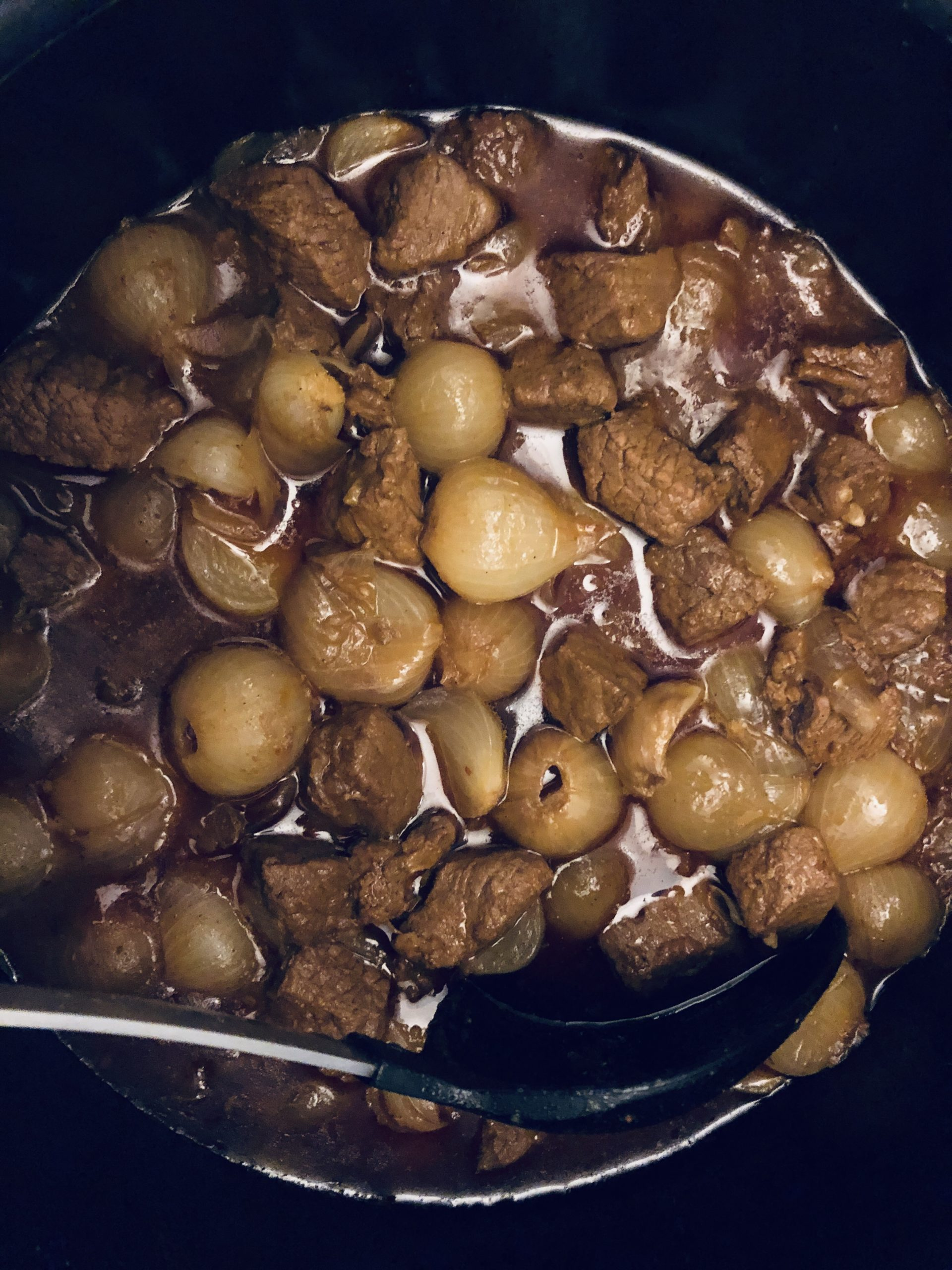 Greek Beef Stifado stew