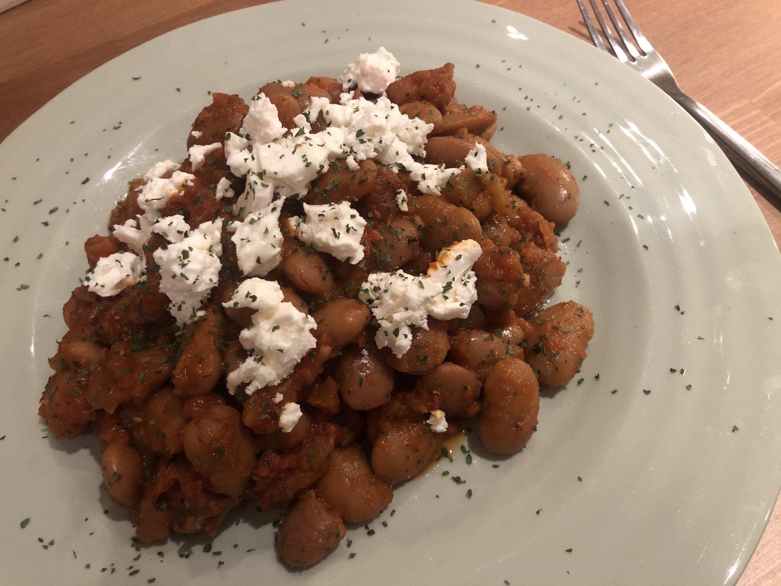Gigantes Plaki – Giant beans recipe